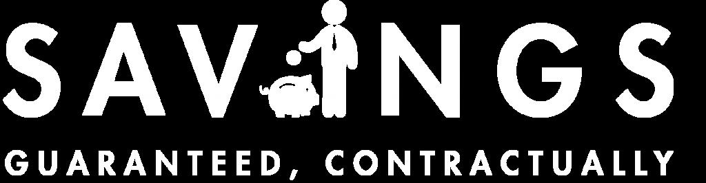 Savings Guaranteed Logo_White